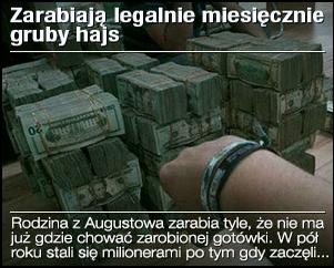 Obrazek - zarabiają legalnie gruby hajs przykład reklamy - getpaid20.pl