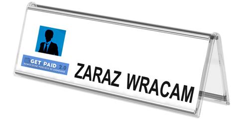 obrazek - zaraz wracam - getpaid20.pl