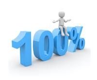 Obrazek - 100%, prowizja, procent, zysk - getpaid20.pl