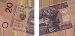 Obrazek - 20 złotych zniszczone popsute banknoty pln - getpaid20.pl
