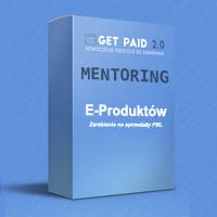 Obrazek - mentoring sprzedaży e-produktów okładka - getpaid20.pl
