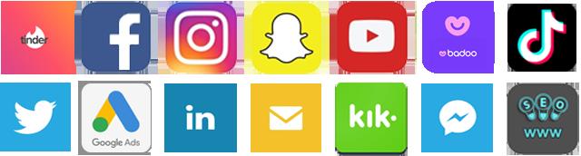Obrazek - social media facebook instagram youtube snapchat seo - getpaid20.pl