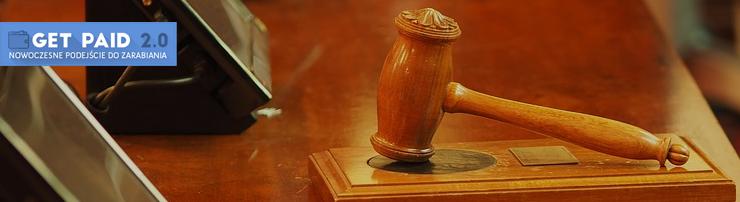 Obrazek - prawo sędzie trybunał wyrok sąd - getpaid20.pl